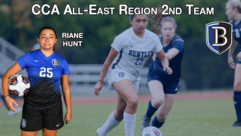 Hunt Named to CCA All-East Region Second Team