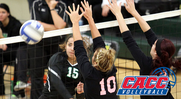 CACC Volleyball Championship Tournament Pairings Set