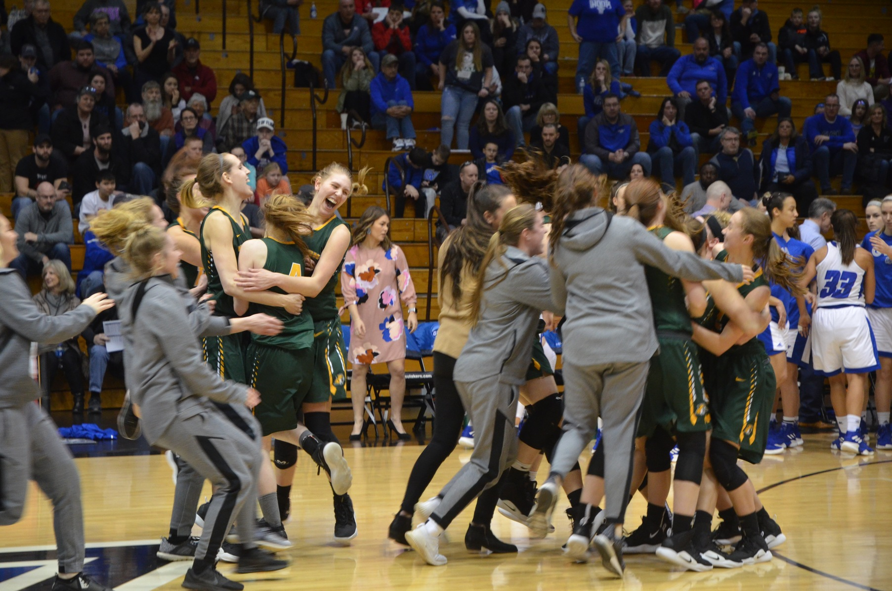 NMU Advances to GLIAC Finals With 48-37 Upset Victory over #7 GVSU