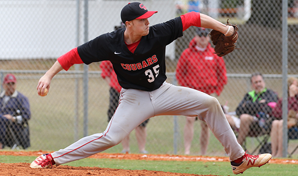 Callum Sawden spun a one-hit shutout in the  4-0 win over Anna Maria.