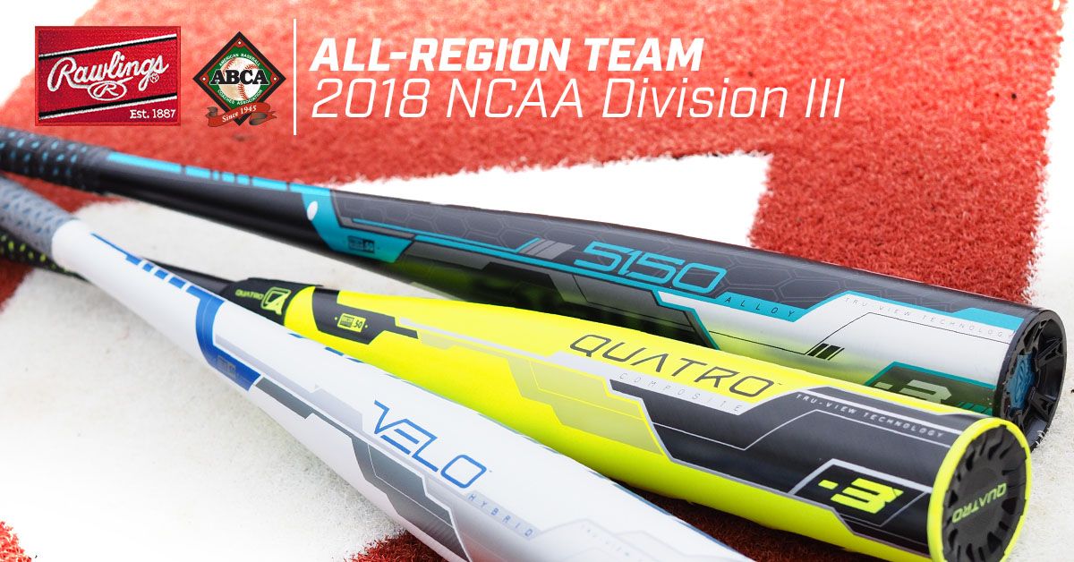 Hall Tabbed Program's First ABCA/Rawlings All-Region Honoree