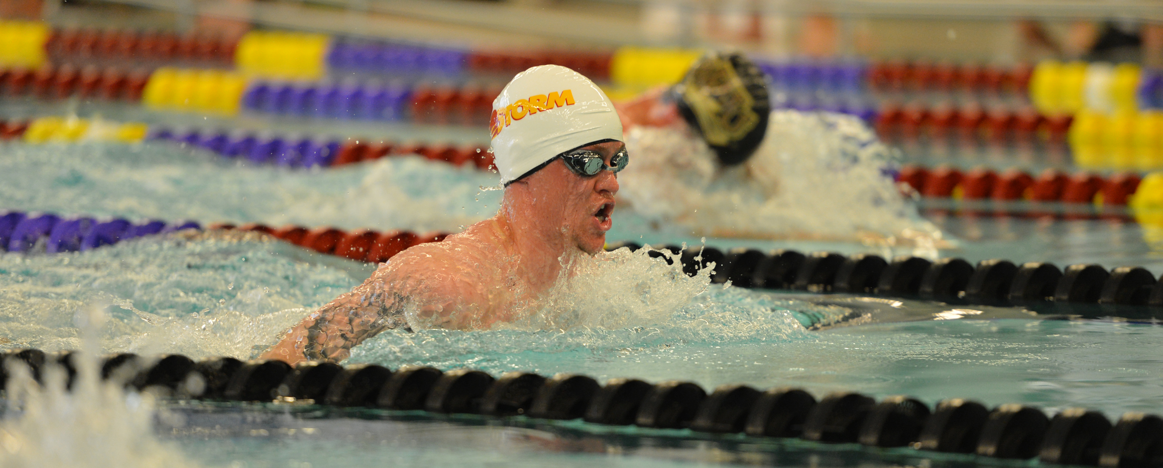 Men's swimming falls to Coe in conference dual