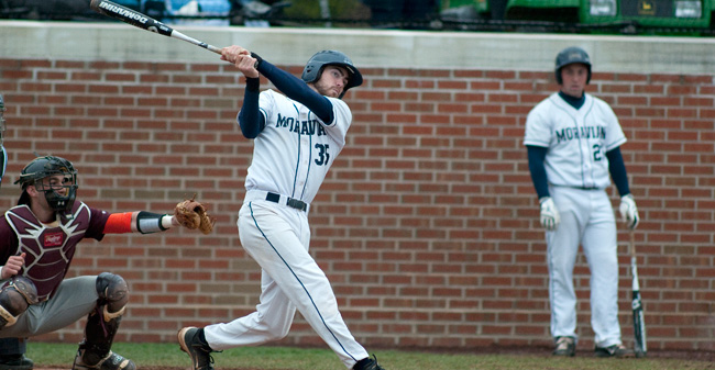 O'Keefe Gets 200th Career Hit as Moravian Defeats PSU-Berks, 12-5