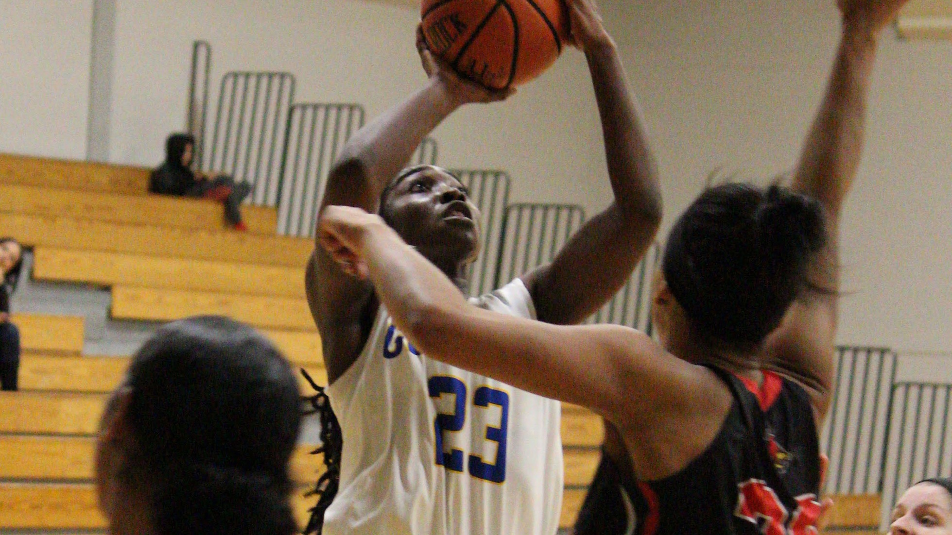 Quarles Has Dominant Performance In Defeat Against Catholic For Goucher Women's Basketball