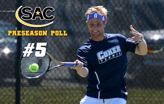 Men's Tennis selected Fifth in Preseason Poll