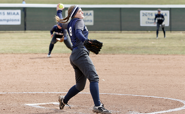 Softball Takes Two More in Convincing Fashion