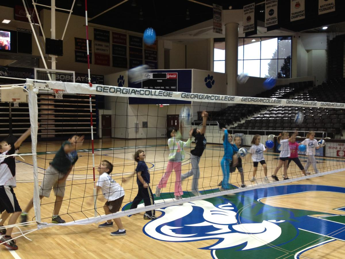 GC Volleyball Completes Third Junior Bobcat Volleyball Clinic