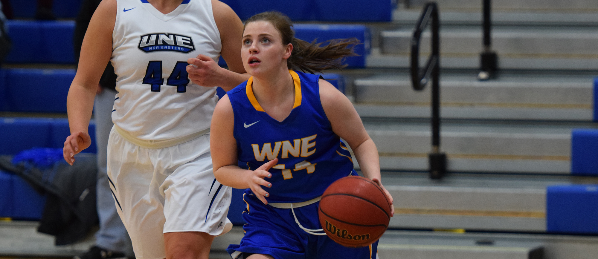 Senior guard Dorothy O'Neill recorded 13 points, six assists and three rebounds in Western New England's CCC semifinal loss at UNE on Thursday night.