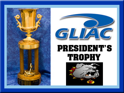Ferris State In Fifth Place In 2010-11 GLIAC President's Trophy Standings