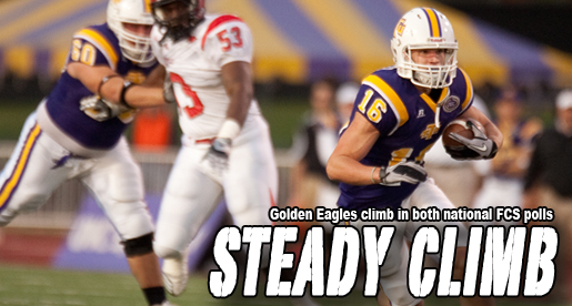 Golden Eagles ranked 19th/25th in FCS national polls