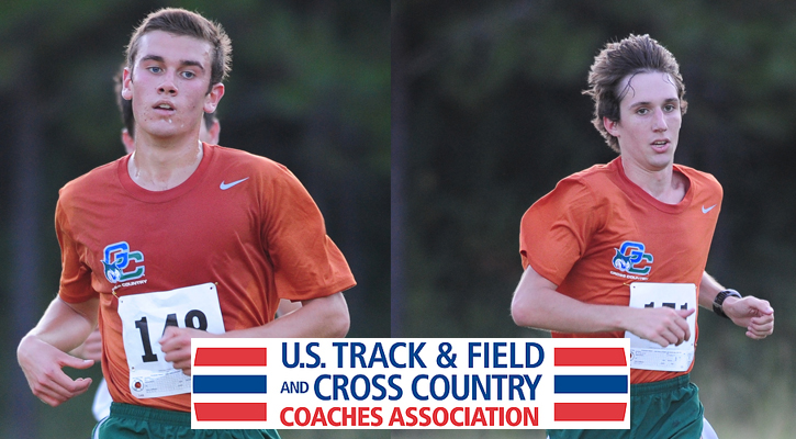 Men's Cross Country Receives USTFCCCA Scholar Awards