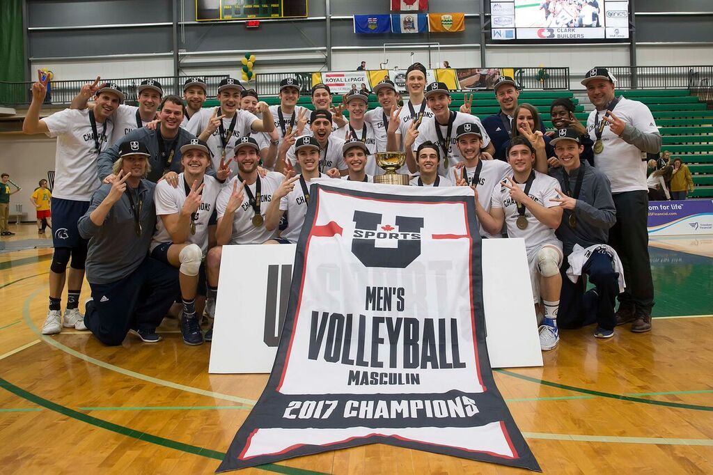 FINAL 2017 U SPORTS FOG Men's Volleyball Championship: Trinity Western wins second-straight U SPORTS Men's Volleyball Championship
