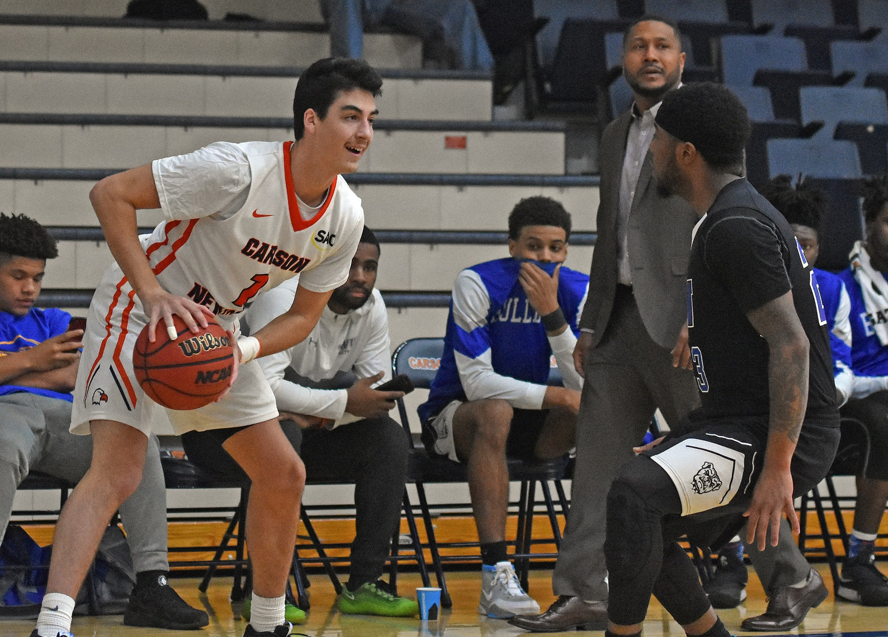Eagles welcome league's top scoring offense, Catawba to Holt Fieldhouse