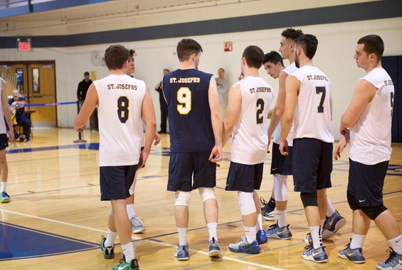 Men's Volleyball Eliminated in Skyline Semis