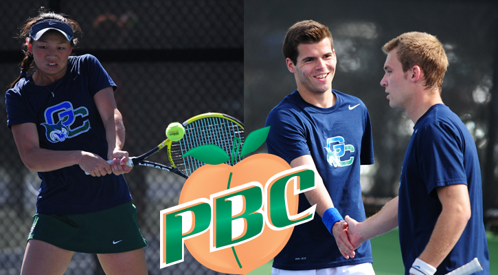 Georgia College Puts Three on All-PBC Tennis Teams