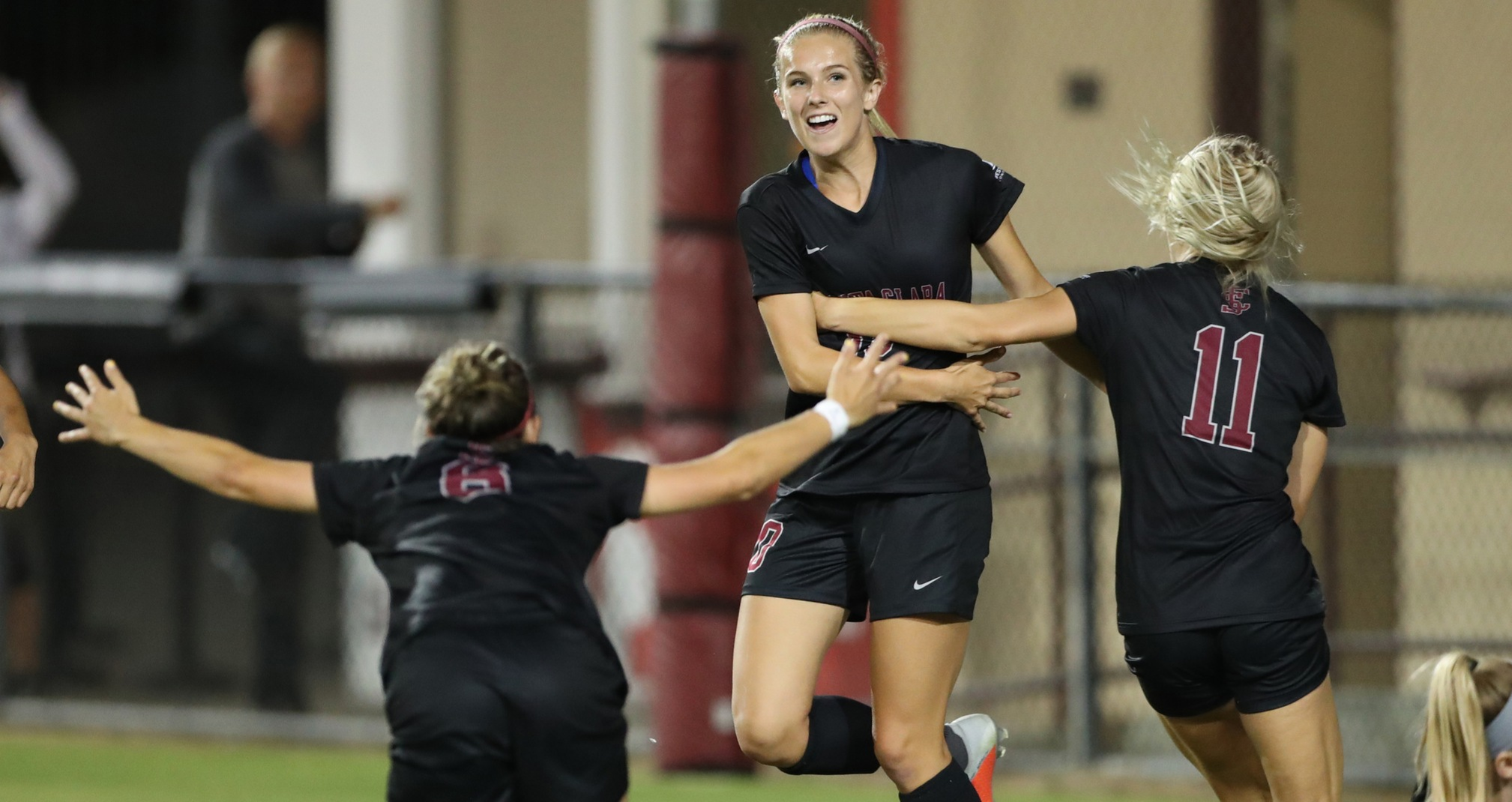 No. 9 Women's Soccer Tops Kansas State 2-0 Thursday at Home