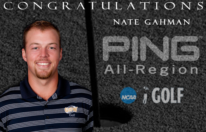 Gahman Named PING All-Region