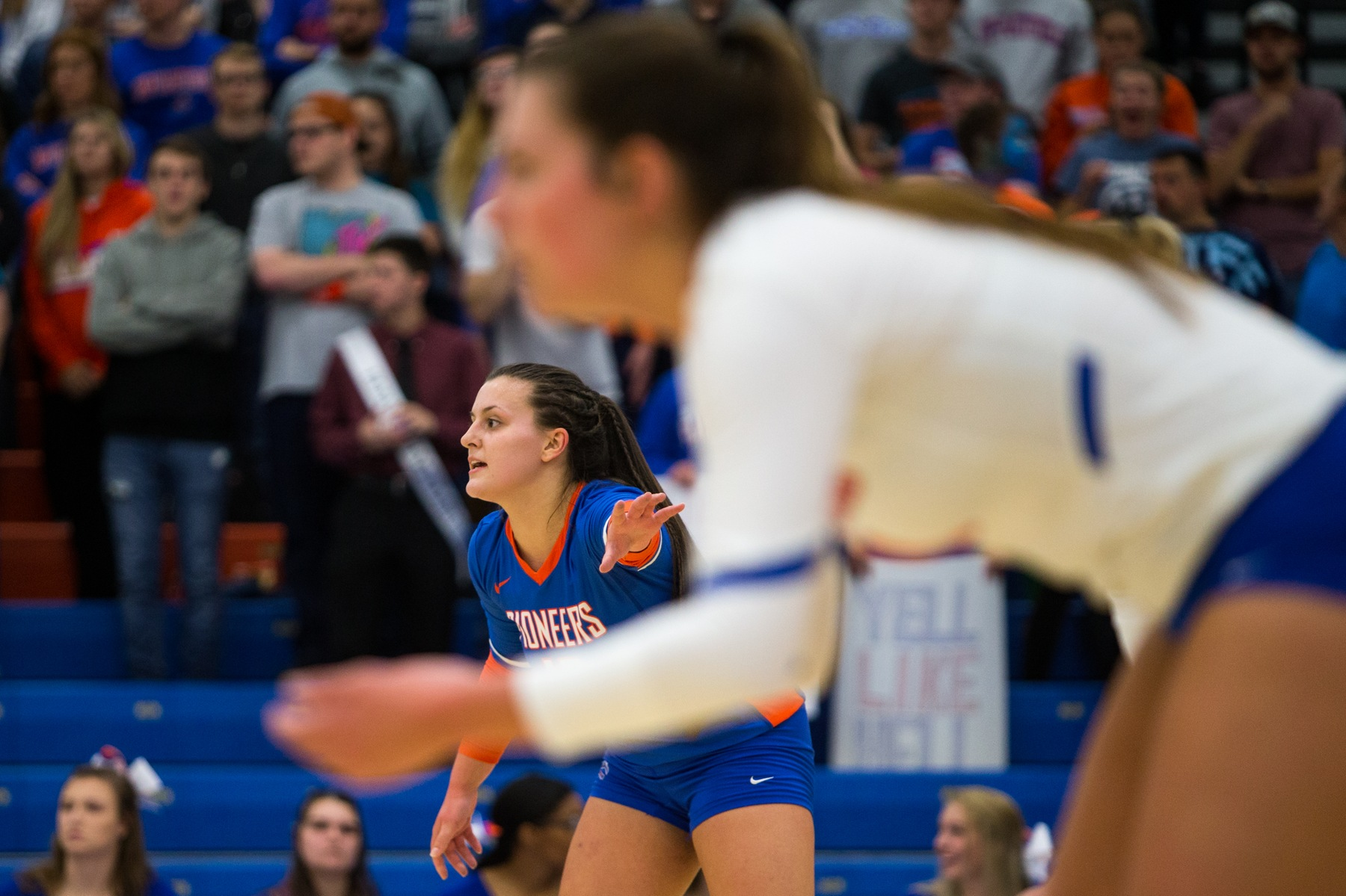 Volleyball season ends with road loss to River Falls