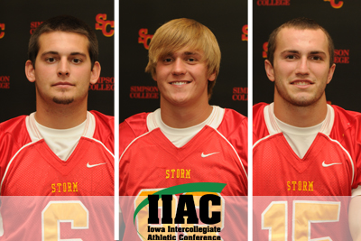 Nelson, Borland, Vogel take home IIAC awards