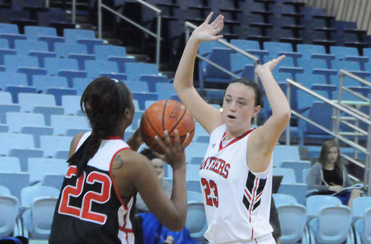 Women's Basketball: Panthers take division-leading Maryville to the wire before falling