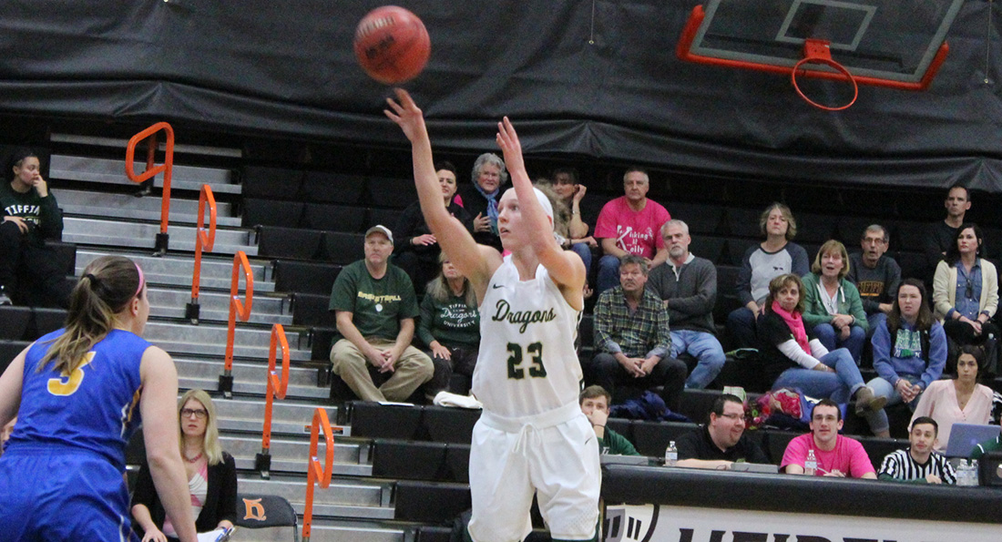 Big First Half Leads Tiffin Past Ursuline