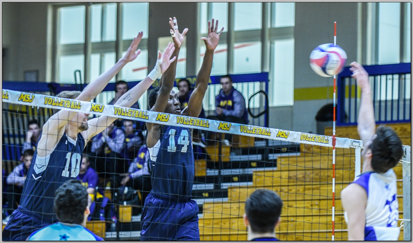 Lions start conference play with two dominant sweeps