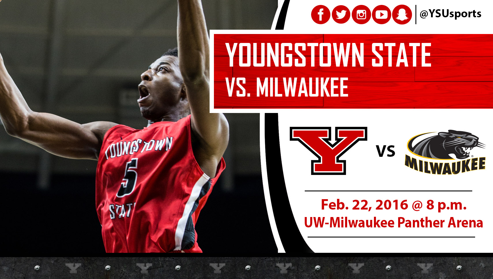 Men's Basketball Visits  Milwaukee For Final Road Game