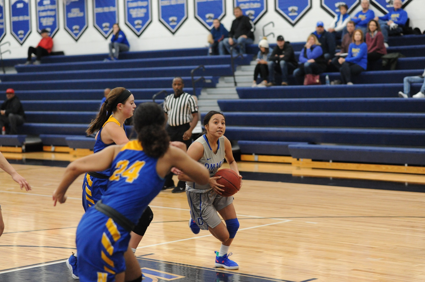 Mena, Porter lead DMACC women's basketball team past ECC, 88-59