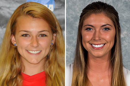 Frostburg State Sophomore Haley Dalphon and Christopher Newport Junior Danielle Pratt Earn CAC Women's Soccer Weekly Awards