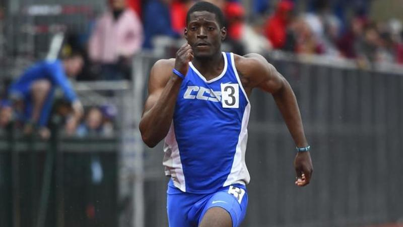 Five Blue Devils Grab Gold at UNH for Men's Track & Field on Saturday