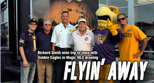 Winner drawn for Iowa Flyaway at final Purple Pride Caravan