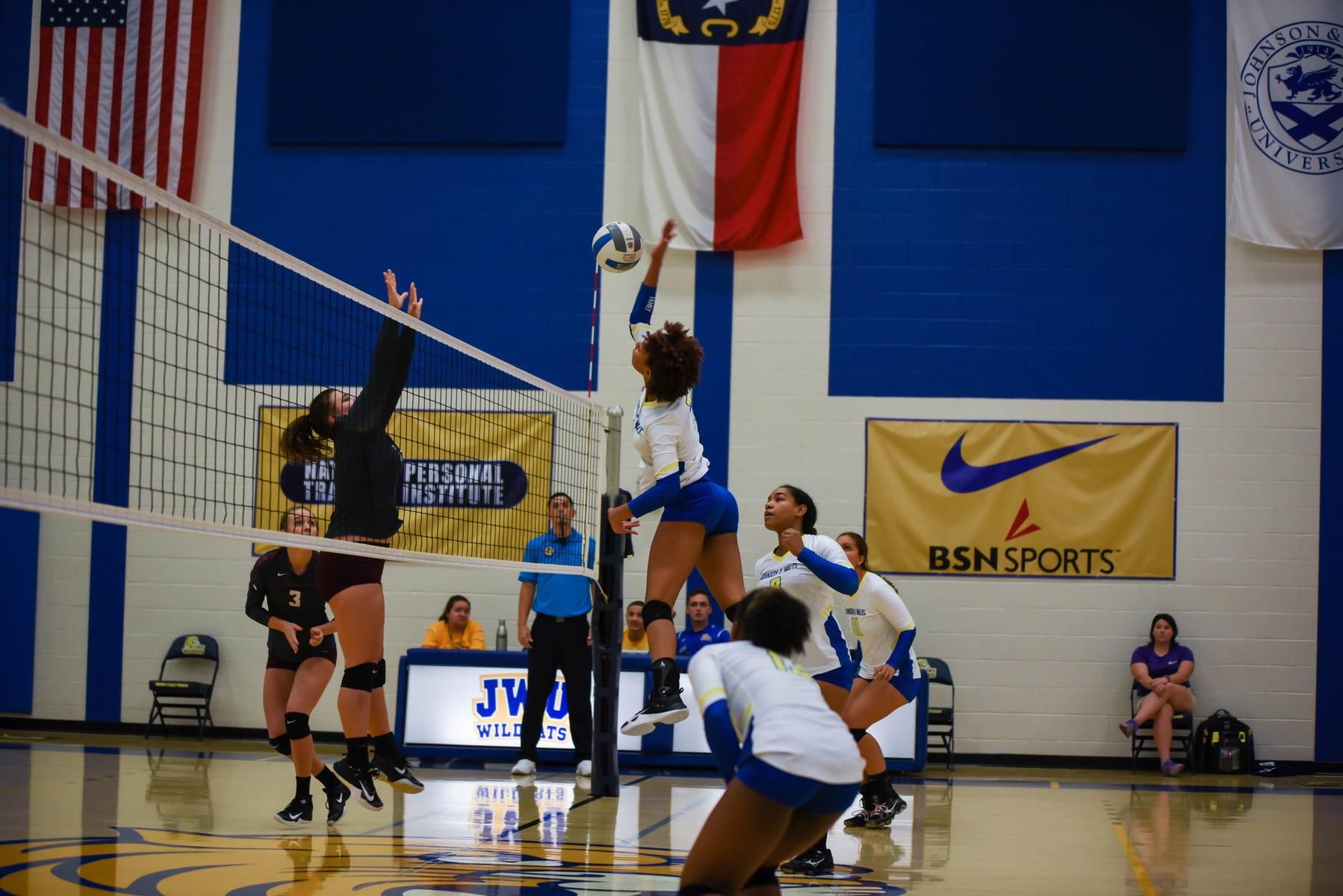 Volleyball Suffers Four-Set Loss at Bob Jones
