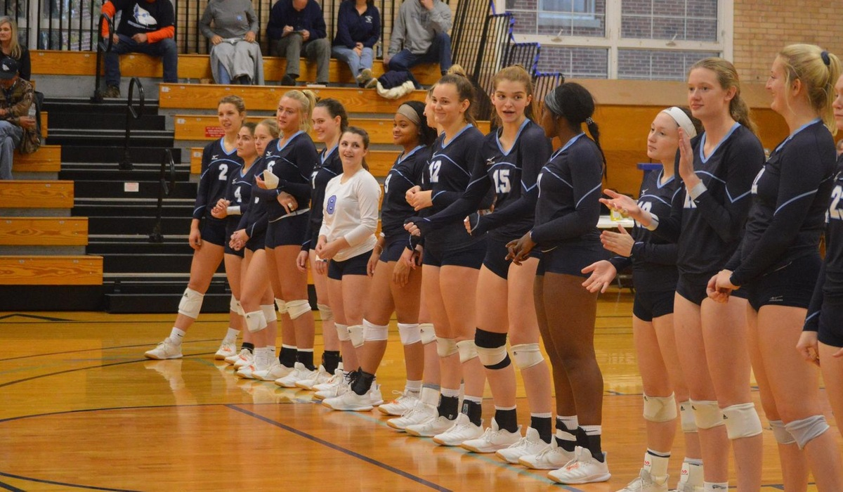 Westminster Volleyball Wins Two Games on Senior Day