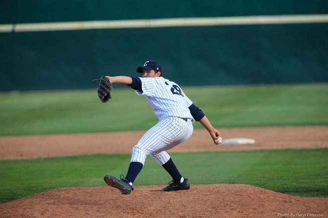 File Photo: Joe Pacheco earned a four-inning save