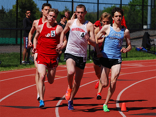 Fords compete at Widener and Larry Ellis Invite