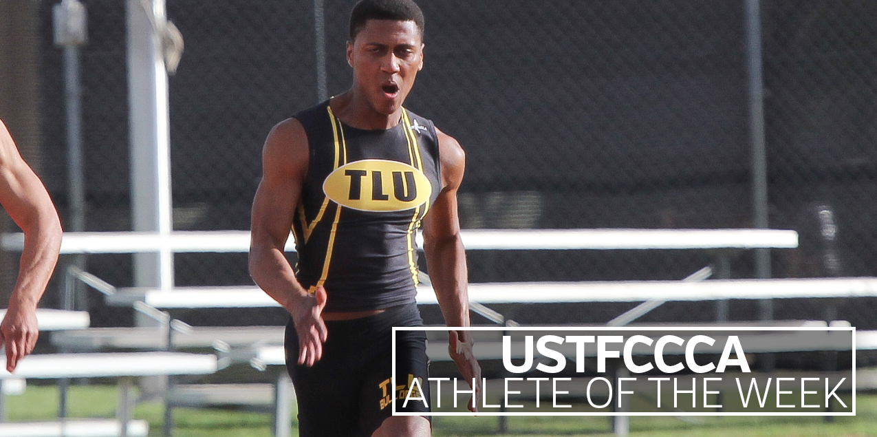 Texas Lutheran's Marquis Brown Named USTFCCCA National Athlete of the Week