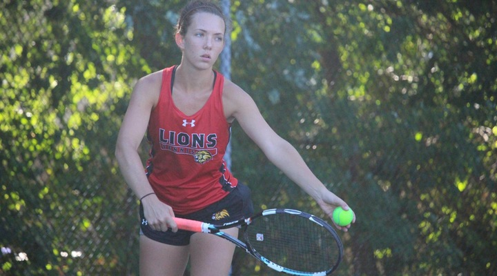 Women's Tennis Surges Past Wentworth 7-2