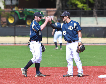 Gallaudet baseball sets school record for wins in a season with sweep of Keuka