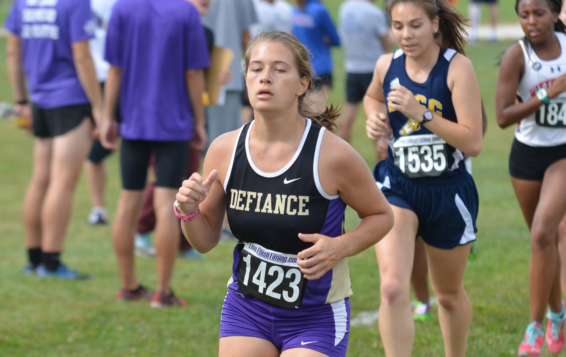 A Pair of DC Herriers Run at All-Ohio