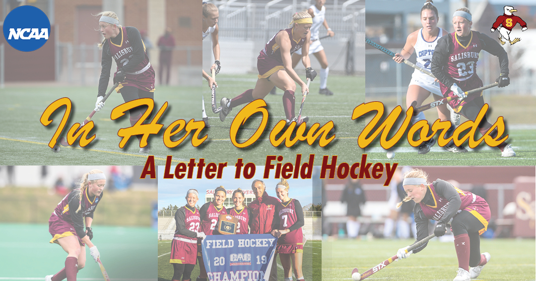 In her Own Words: Arielle's letter to Field Hockey