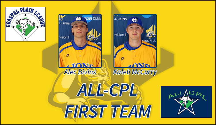 Bivins, McCurry announced to Coastal Plain League First Team