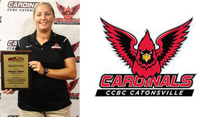 CCBC Catonsville's Melissa Miller Named Conference AD of the Year