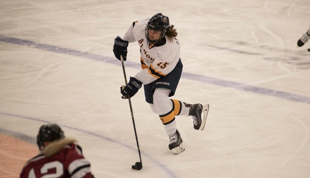 Blugolds tie with Gusties