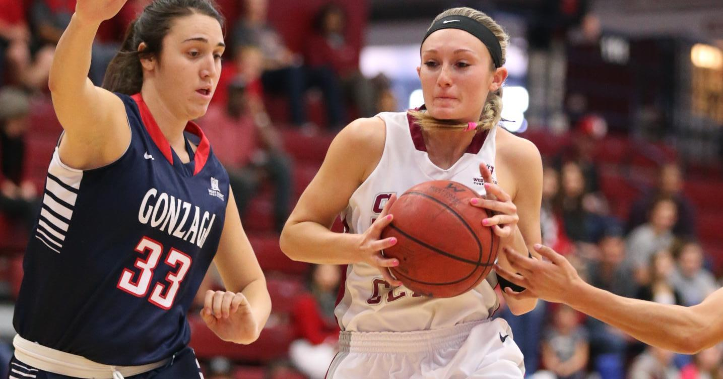 Strong Defensive Effort for Women's Basketball Comes Up Just Short vs. No. 23 Gonzaga