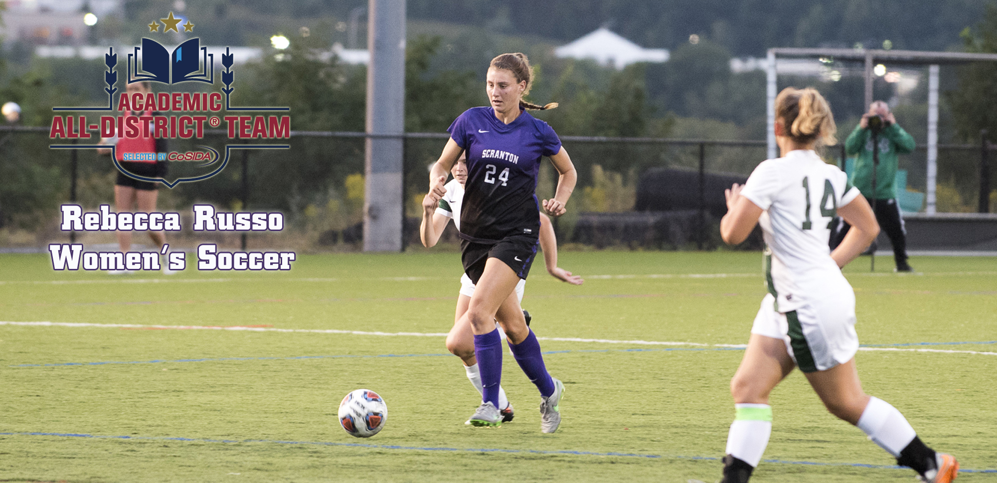 Women's Soccer's Russo Named CoSIDA Academic All-District