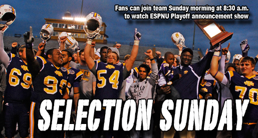 Fans invited to join team for Sunday morning Playoff Selection Show viewing