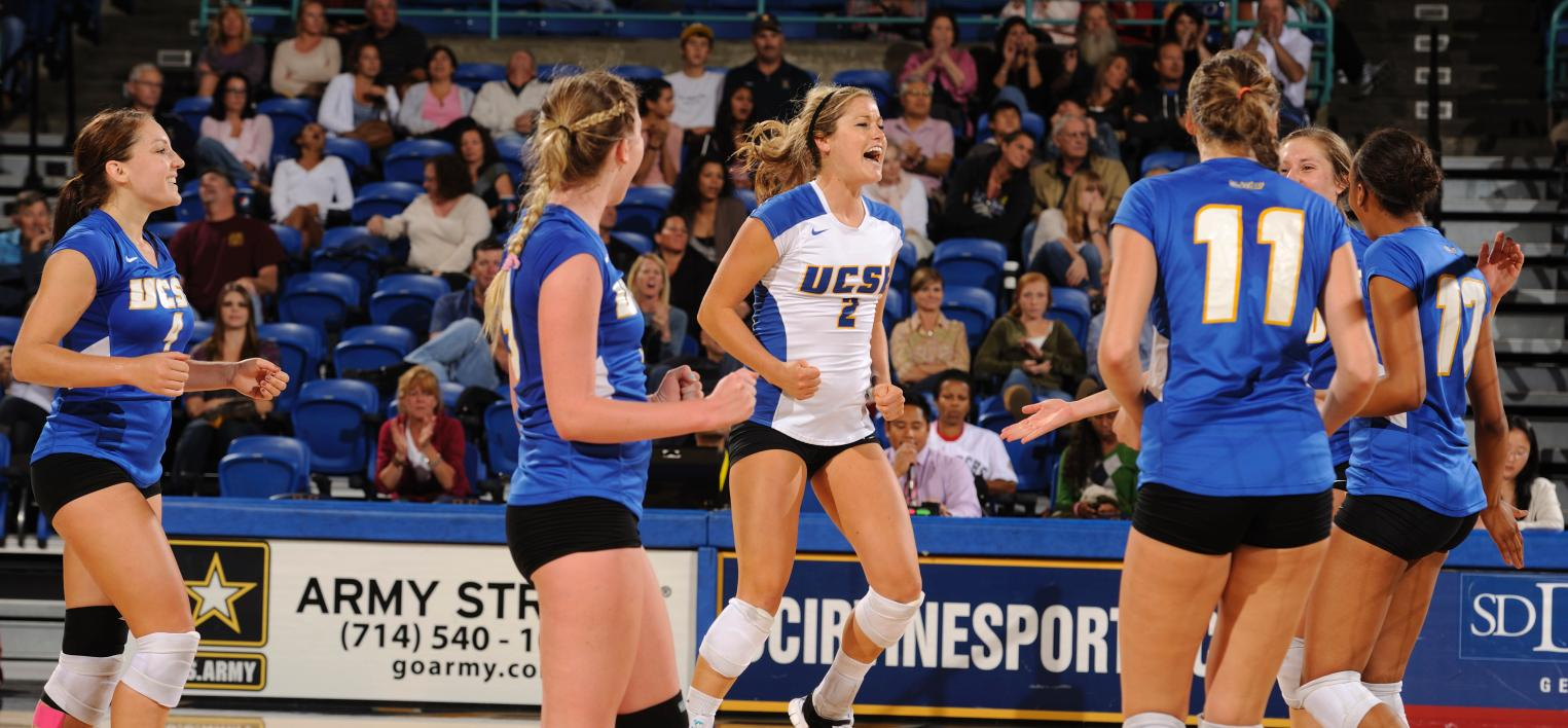 Gauchos Host CSUN, Cal Poly in Final Home Matches of Season