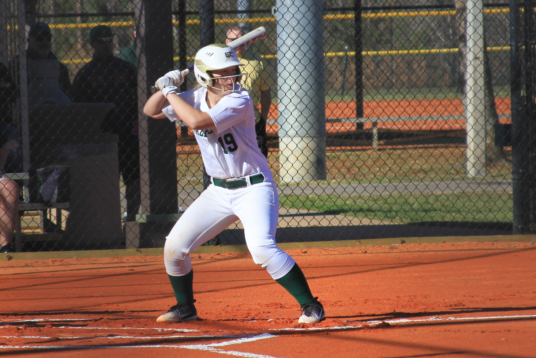 Softball Splits Twin Bill With St. Joseph CT