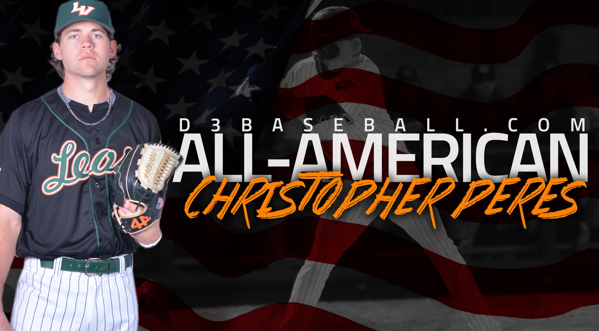 Peres Named D3baseball.com All-American