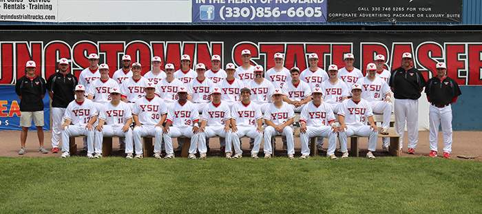 2017 YSU Baseball Team Photo